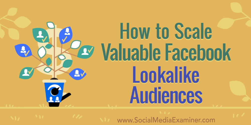 How to Scale Valuable Facebook Lookalike Audiences