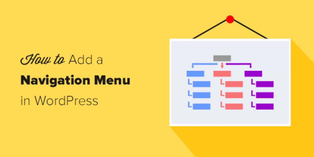 How to Add Navigation Menu in WordPress (Beginner's Guide)