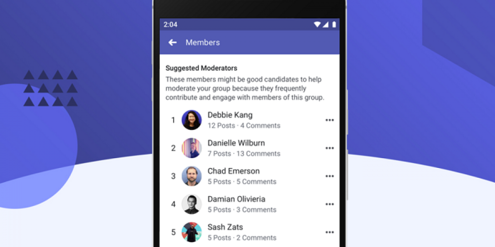 Facebook Adds 'Suggested Moderator' Recommendations to Assist in Group Management