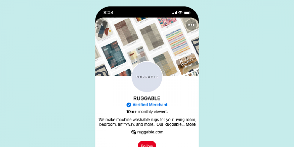 Pinterest Launches Verified Merchant Program for Brands That Deliver High Quality Customer Service