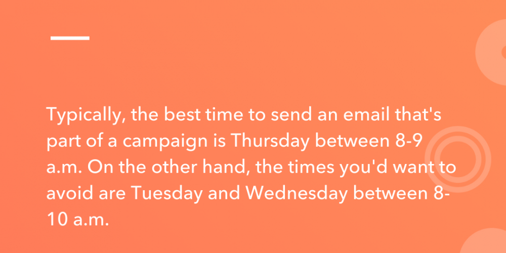 What's The Best Time to Send Email Campaigns? (Research-Backed)