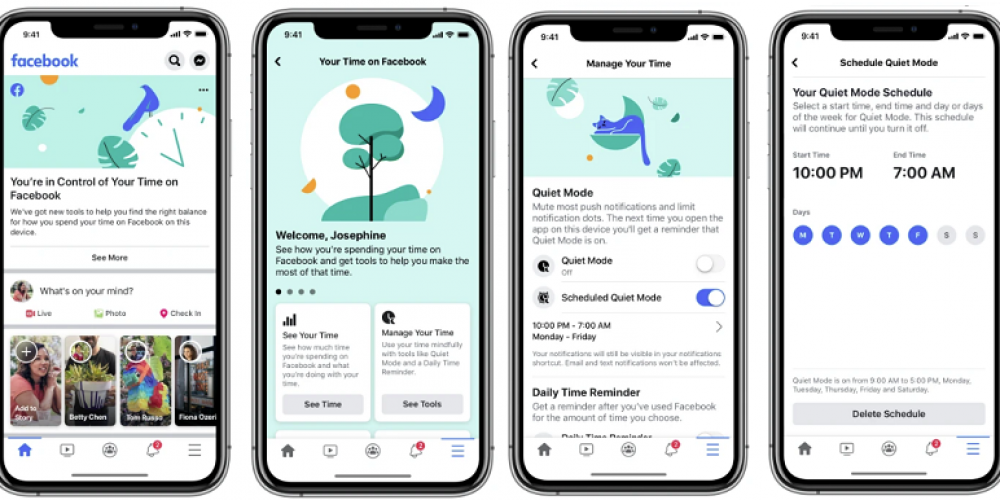 Facebook Adds New 'Quiet Mode' to Help Manage Time Spent in the App