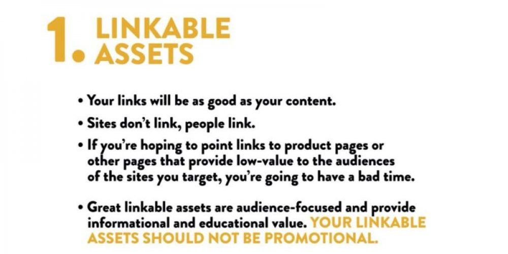 The pillars of successful link building