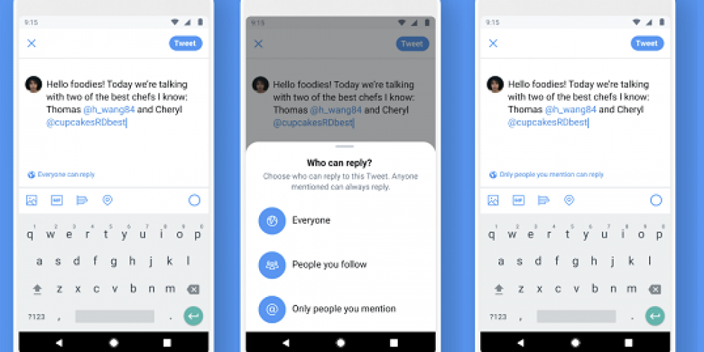 Twitter Begins Live Testing of New Controls Over Who Can Reply to Your Tweets