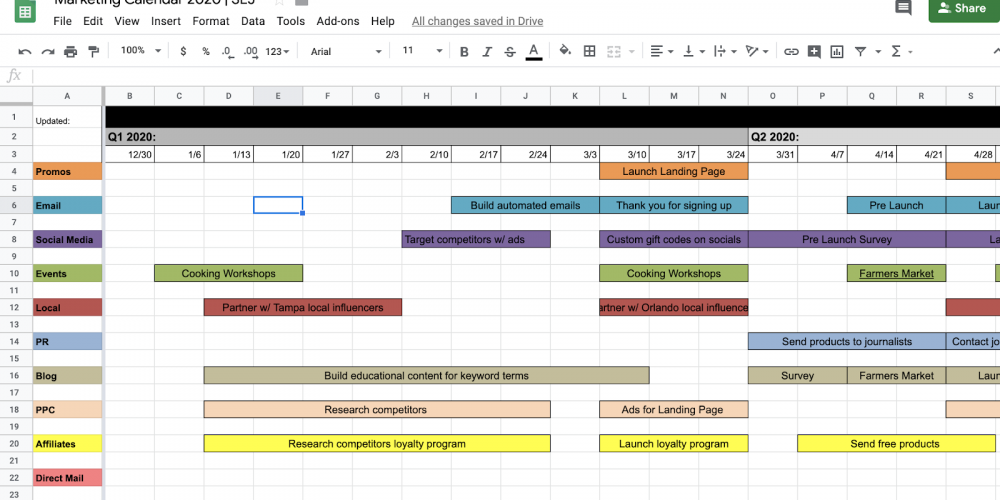 The Ultimate Holiday Marketing Calendar for 2020 [Free Templates] via @annaleacrowe