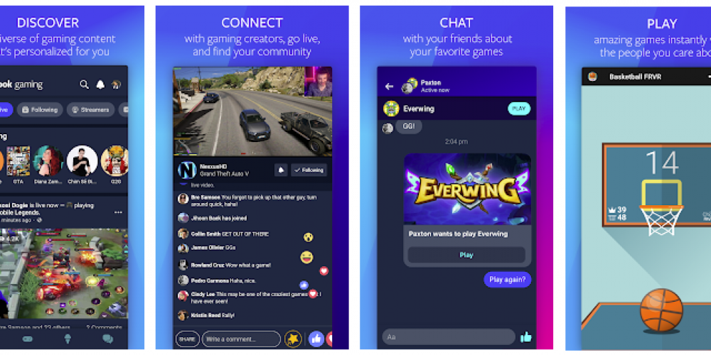 Facebook Launches New Gaming App to Challenge Twitch, YouTube