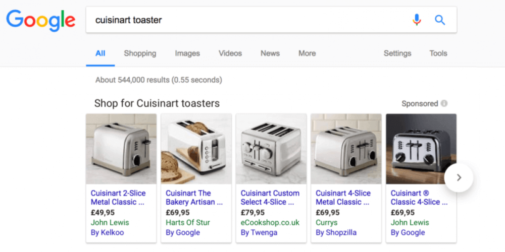 European antitrust chief says Google's auction-based shopping remedy not working