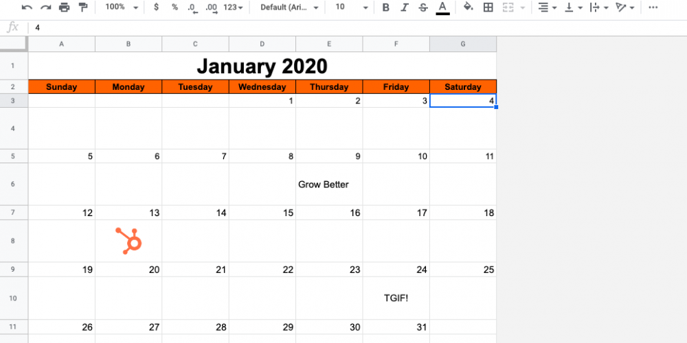 How to (Easily) Make Perfect Content Calendars in Google Sheets