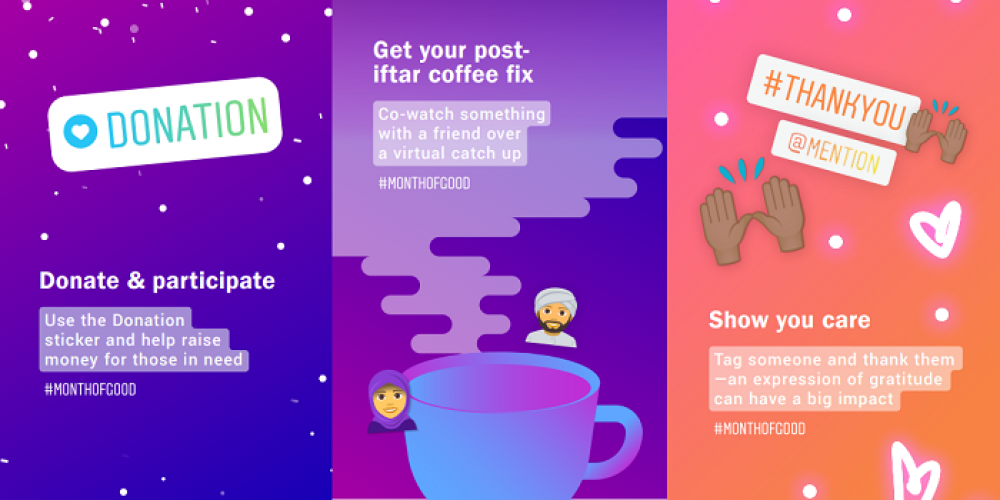 Instagram Launches #MonthofGood Initiative to Inspire Connection During Ramadan