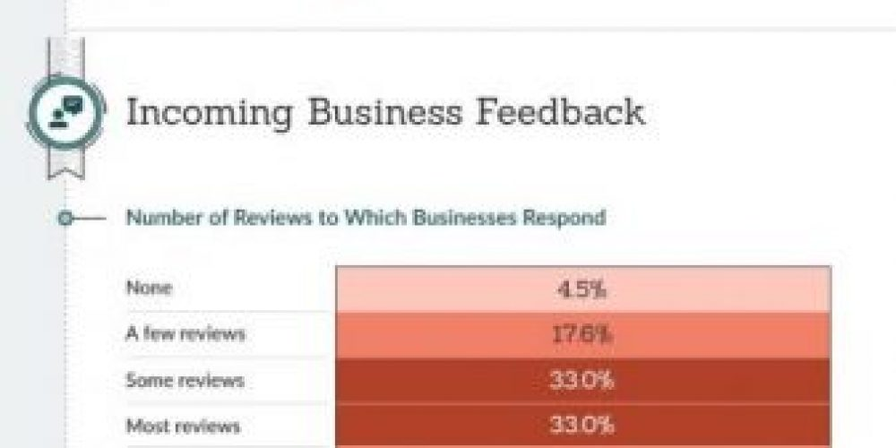 How Businesses Handle Customer Reviews [Infographic]