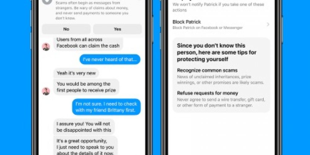 Facebook's Adding New Warning Prompts in Messenger Threads to Protect People from Scammers
