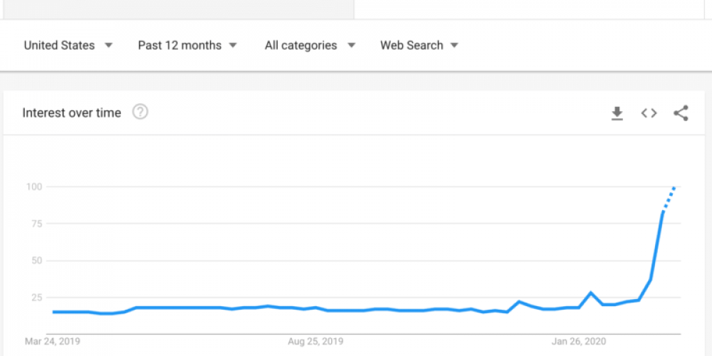 Winners and losers: How COVID-19 is affecting search behavior