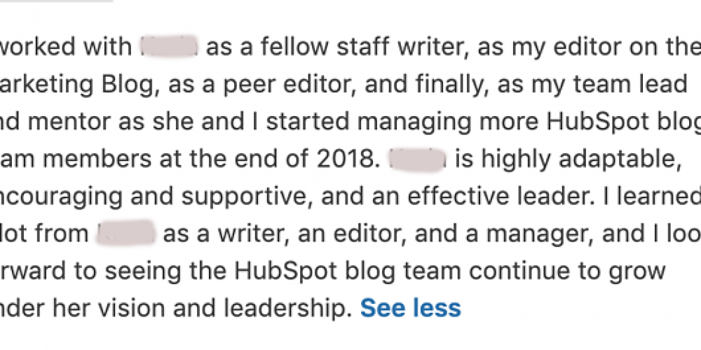 How to Write a LinkedIn Recommendation in 2019 [Quick Tip]
