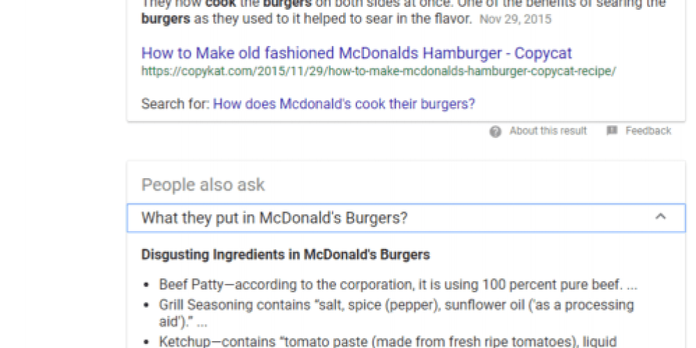 Google people also ask boxes not showing as often now?
