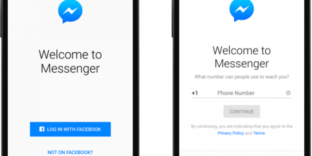 Facebook Removes Option to Create a Messenger Account Without a Facebook Profile