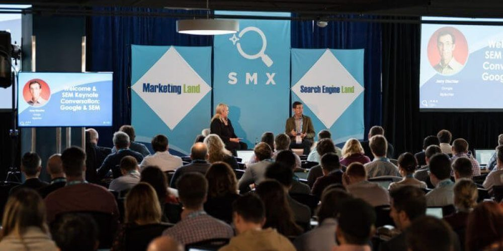 Behind the scenes at SMX East