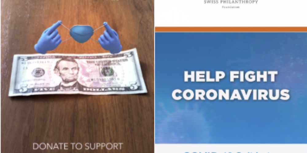 Snapchat Launches New Lens Experience to Raise Awareness of WHO's Efforts to Combat COVID-19