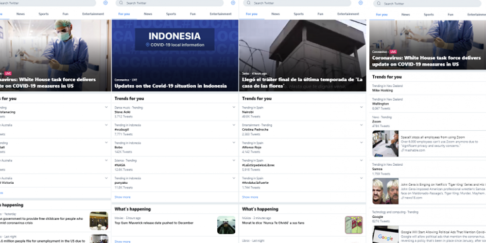 Twitter Updates Explore, Making its Listings More Location-Specific