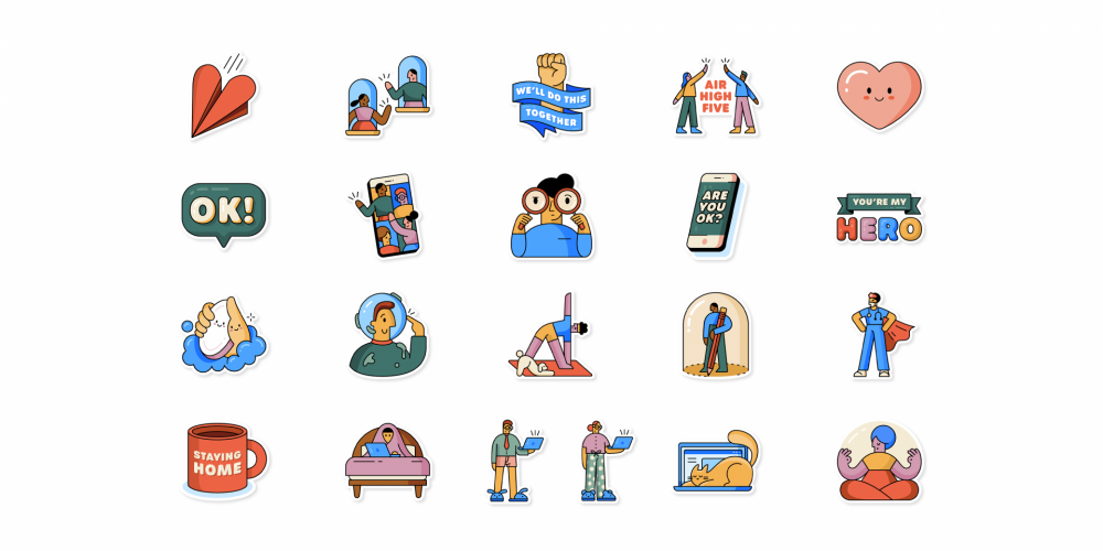 WhatsApp Partners With WHO on New 'Together at Home' Sticker Pack to Boost COVID-19 Messaging